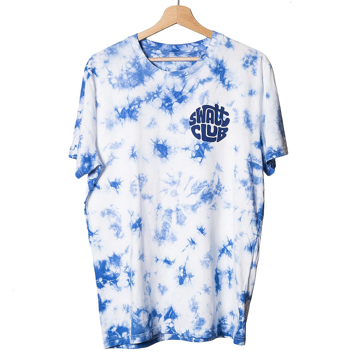 tie and dye swatt club solowattaggio t-shirt