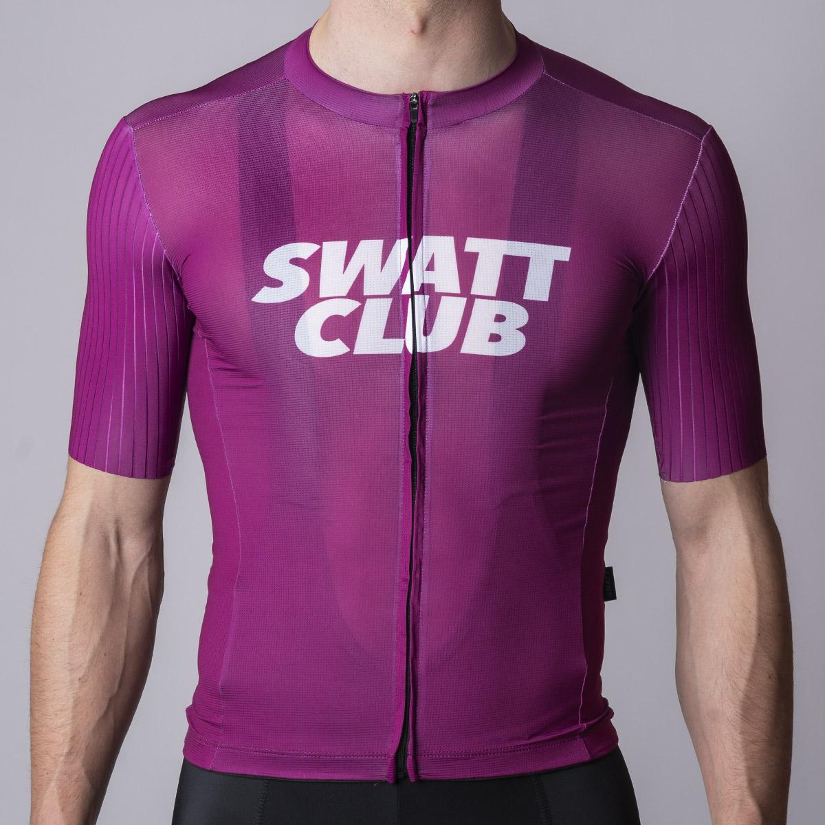Ciclamino cycling jersey swatt club maglia ciclismo
