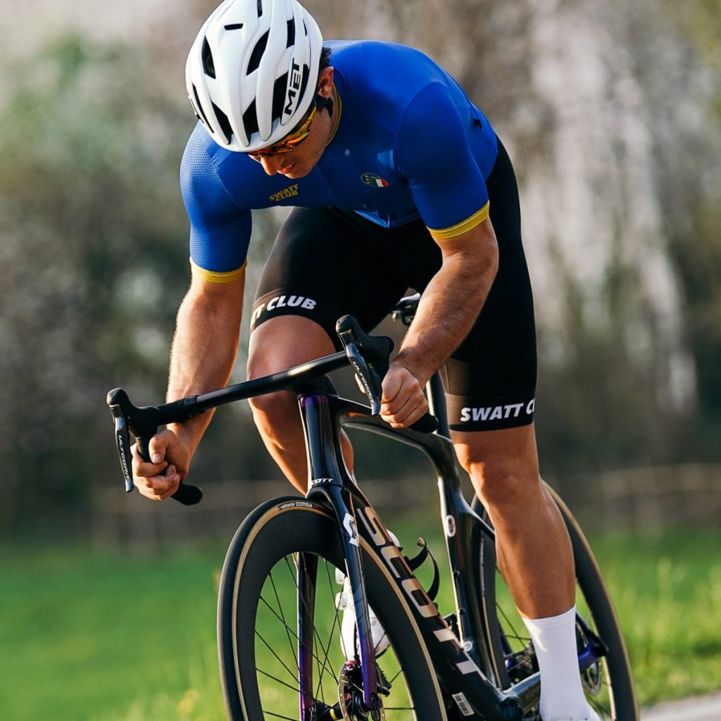 Italia swatt club cycling jersey