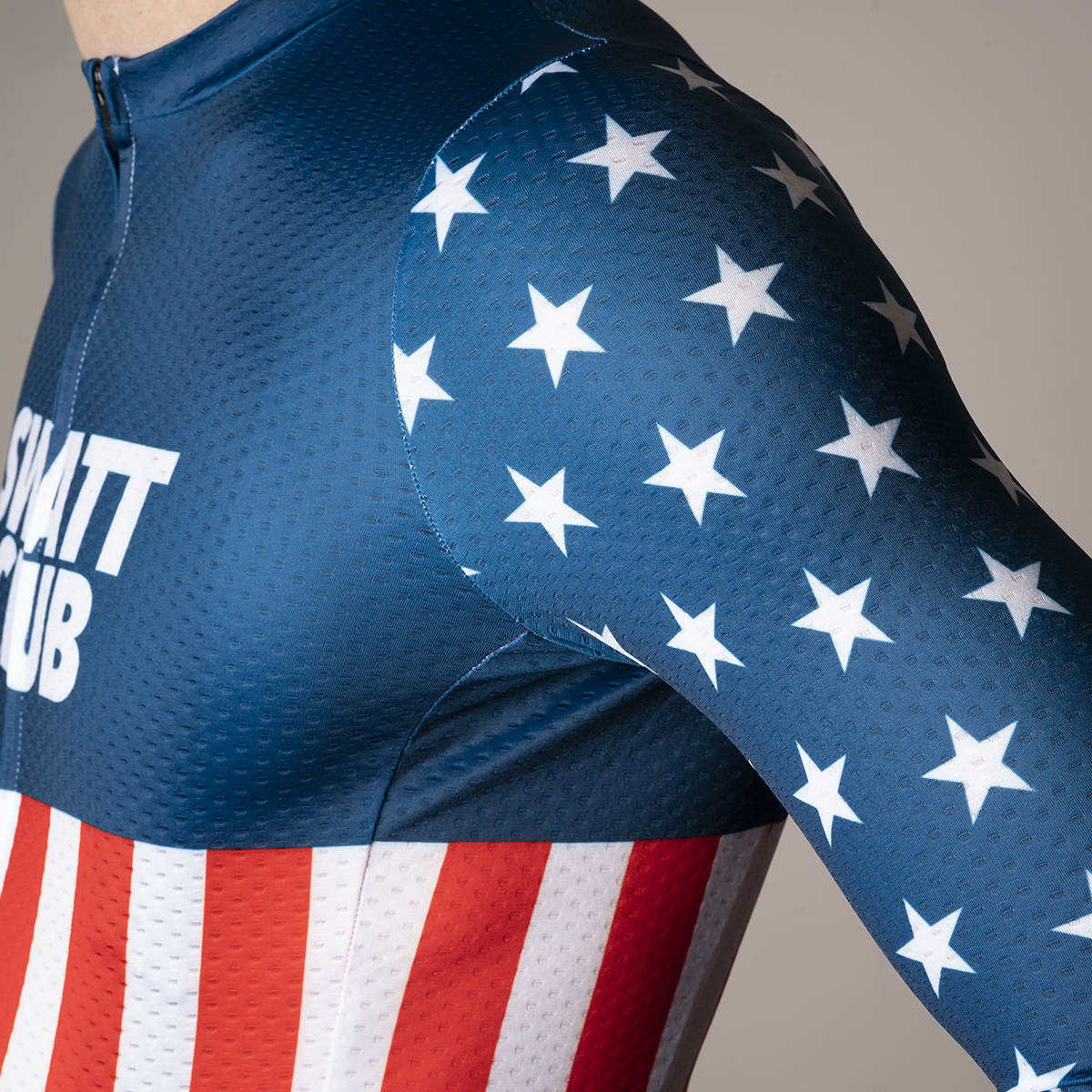 USA Aero Long Sleeve cycling jersey